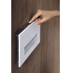 Przycisk biały z tworzywa Geberit Sigma40 do WC z odciągiem zapachów 115.600.KQ.1