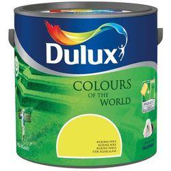 Farba Kolory Świata Dulux Ryżowe Pola 2.5L