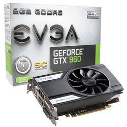 EVGA GeForce GTX 960 2048MB 128bit SC GAMING