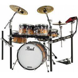 Pearl E-Pro Live Quilted Maple