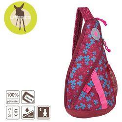 Lassig - Plecak na Jedno Ramię Blossy pink