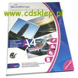Papier fotograficzny matowy dwustronny A4 250g 50ark. MRINK112