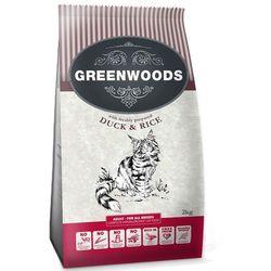 Greenwoods karma dla kota Adult, Kaczka - 4 kg