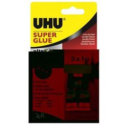 Klej UHU Super Glue Mini 1gx3 sztuki