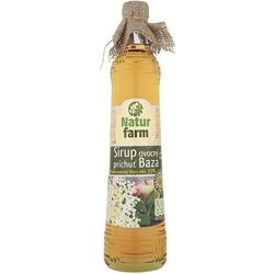 NATUR FARM 700ml Syrop owocowy z aromatem kwiatów czarnego bzu aż 33%