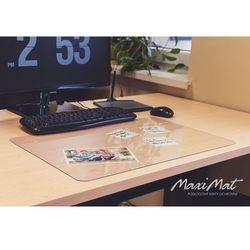 Podkładka DESKPAD na biurko, stół 50x70cm - przezroczysta + BONUS