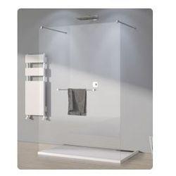 Ścianka wolno stojąca SanSwiss WALK-IN PUR szerokość 131 do 160 cm, chrom, szkło przeźroczyste SOLSM21007