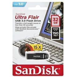 Pendrive SanDisk Ultra Flair USB 3.0 Drive 32GB - Szybka wysyłka