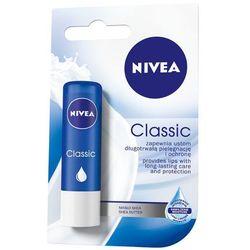 NIVEA 4,8g Classic Pomadka olejek jojoba i masło shea