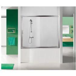 SANPLAST drzwi nawannowe TX5 150 wnękowe szkło W15 (parawan) D2-W/TX5b-150 600-271-1550-38-231