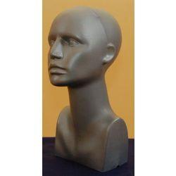 afc6dc33f4e708 ... (manekin damski calopostaciowy) w kategorii Artykuły do ekspozycji w  sklepie . Głowa damska, plastikowa łysa - wysoka w kolorze srebrnym.