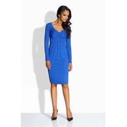 2c99f44225d0b suknie sukienki chabrowa sukienka - porównaj zanim kupisz