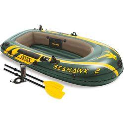 Intex Seahawk ponton z wios?ami + pompka Darmowa wysy?ka i zwroty