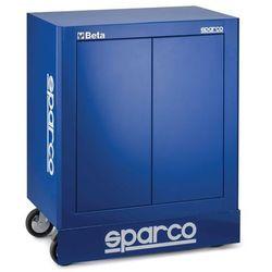 Szafka warsztatowa Sparco - dwudrzwiowa z półkami