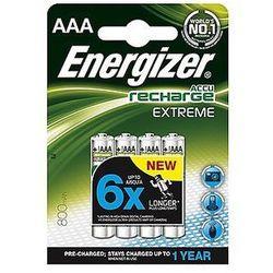 Akumulatorki Energizer Extreme AAA HR03 800mAh 1,2V - 4szt.