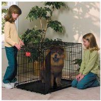 MidWest Life Stages 1636DD - klatka dla psa o wymiarach 91x61x69cm, rozmiar L