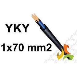 Kabel YKY 1x70RMC 1kV PRZEWÓD ZIEMNY MIEDZIANY