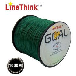 1000M LineThink Brand Super strong Multifilament 100% PE Braided Fishing Line 8LB to 120LB Japan Quality Free Shipping