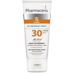 KREM OCHRONNY NA SŁOŃCE do twarzy i ciała SPF 30 DLA NIEMOWLĄT I DZIECI 180 ml Produkt w promocji