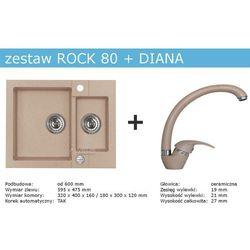 Zestaw ALVEUS ROCK 80 + DIANA (kolor BEŻOWY)