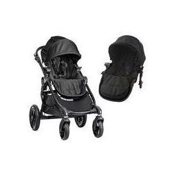 Wózek wielofunkcyjny City Select Double Baby Jogger + GRATIS (black)