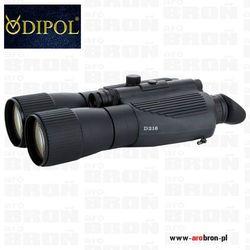 Noktowizor Lornetka Dipol D216 PRO IR 6x f120 810nm z podświetlaczem laserowym - zasięg 700m