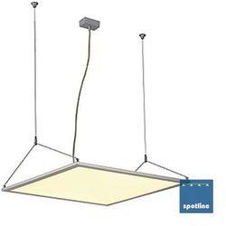 LAMPA wisząca LED PANEL PD 115 158512 Spotline OPRAWA aluminiowa LISTWA LED 39,6W kwadratowa aluminium anodowane