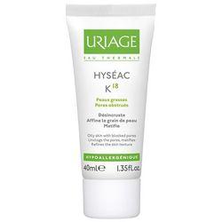 Uriage Hyseac K18, krem do skóry tłustej, trądzik, 40 ml