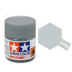 Farba akrylowa - XF80 Royal Light Gray matt / 10ml Tamiya 81780
