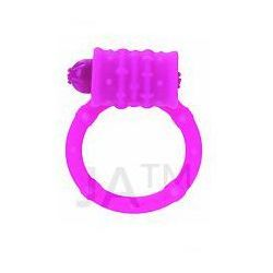 Calexotics Posh Silicone Vibro Ring Pink Nakładka wzmacniająca na penisa z pociskiem wibracyjnym różowa