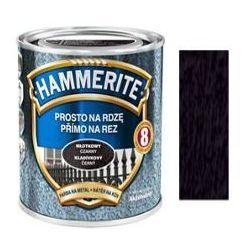 Farba Prosto Na Rdzę - Efekt Młotkowy Czarny 0,25L Hammerite