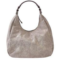 61bb4ada59998 mala torebka na ramie z ozdobnym zamkiem bonprix brunatny w ...