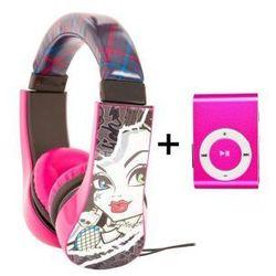 Słuchawki Odtwarzacz MP3 Dla Dzieci Monster High