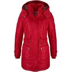 Płaszcz zimowy bonprix ciemnoczerwony