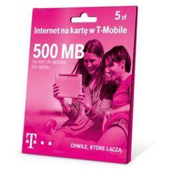 T-Mobile Internet na kartę 500MB 5 zł