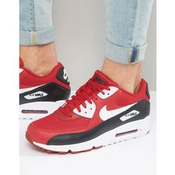 Nike Air Max 90 Essential Trainers In Red 537384-610 - Red