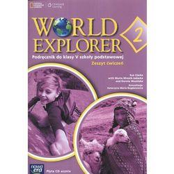 WORLD EXPLORER 2 klasa 5 ćwiczenia + CD (opr. miękka)