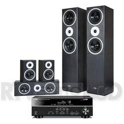 Yamaha RX-V381, Pure Acoustics Tornado (czarny) - produkt w magazynie - szybka wysyłka!