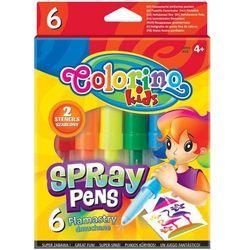 Colorino, Flamastry dmuchane, 6 kolorów Darmowa dostawa do sklepów SMYK