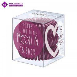INVISIBOBBLE Plum Moon Śliwkowe gumki do wosów 3 pack