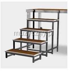 Alu Stage schody modułowe do podestu aluminiowego 0,4 - 0,6 - 0,8 m Płacąc przelewem przesyłka gratis!