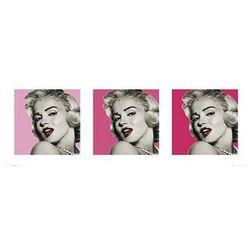 Marilyn Monroe Triptych - reprodukcja