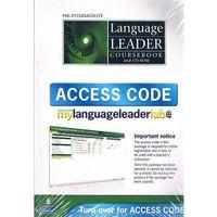 Language Leader Pre-Inttermediate Students Book plus Access Code (opr. miękka)