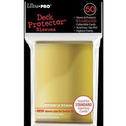 Koszulki (protektory) ultra pro złote 50s