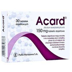Acard 150mg x 30 tabletek