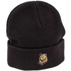 czapka zimowa GRIZZLY - Grizzly Refuge Blk (BLK)