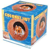 Coconut Hut - domek dla gryzoni w łupinie orzecha