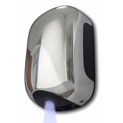 Suszarka do rąk MINI - ABS chromowana lub srebrna   13 sek   900W