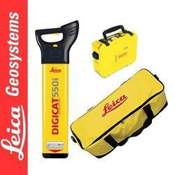 Leica Digicat 550i Wykrywacz instalacji podziemnej + generator Digitex 100t + Torba GVP 633