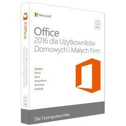 Program MICROSOFT Office 2016 MAC dla Użytkowników Domowych i Małych Firm